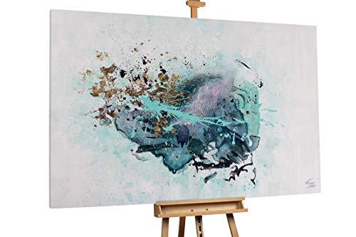 Kunstloft® Extraordinario Cuadro óleo 'Volcán Submarino'