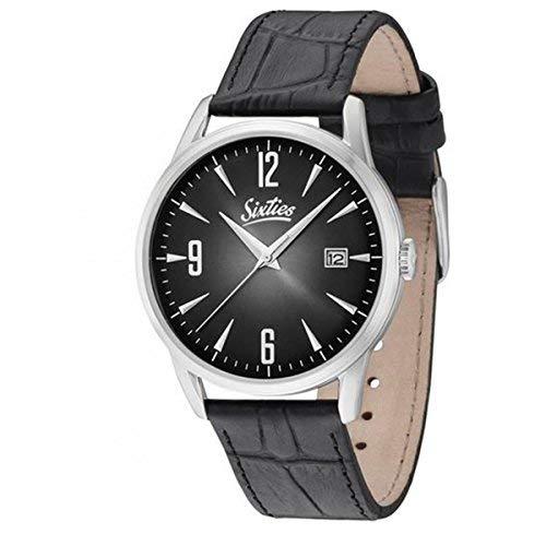 Sixties Unisex-Armbanduhr im Stil der 60er Jahre | Times Change - Style Doesn\'t | Für modebewusste Damen & Herren - Klassische Uhren im coolen Retro-Design