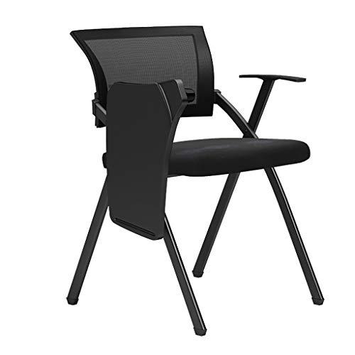 Zheyi Bureaustoel, inklapbaar, stapelbaar, licht en opvouwbaar, draagbaar, voor maaltijden in de camping, tuin, bureaustoel, draagvermogen 150 kg, 83 x 45 x 48 cm
