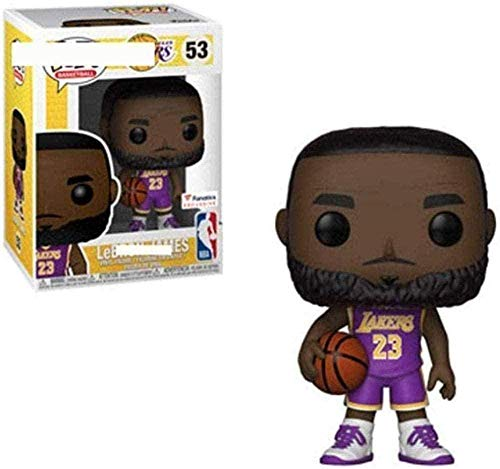 A-Generic Pop Vinyl NBA: Los Ángeles Lakers - Lebron James (Tribunal) 10 cm Vinyl Collectible Juguetes