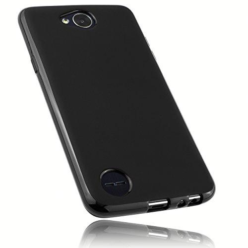 mumbi Hülle kompatibel mit LG X Power 2 Handy Hülle Handyhülle, schwarz