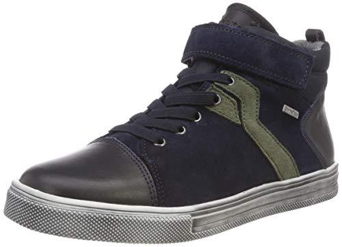 Richter Kinderschuhe Jungen Ola-6542-441 Hohe Sneaker, Blau (Atlantic/Birch 7201), 26 EU