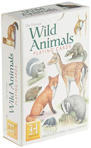 Wild Animals Playing Cards