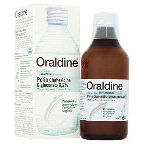 Enjuague Bucal - Oraldine Perio clorhexidina 0.2% - 400ml