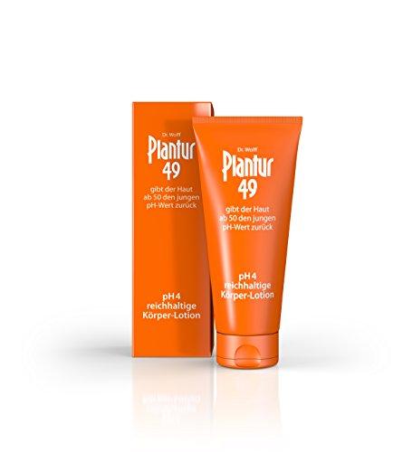 Plantur 49 Körper-Lotion, 1 x 200 ml - Die reichhaltige Hautpflege mit pH-Wert 4