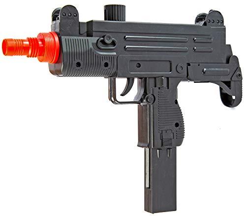 Nerd Clear Softair Gewehr schwarz 35cm lang | Air Soft Waffe mit 0,5 Joule: 1 Stück