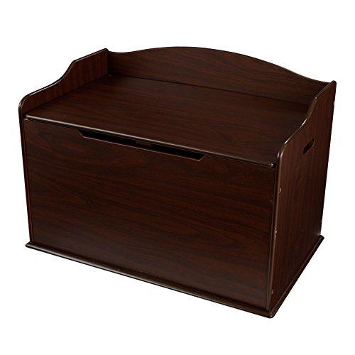 kids toy chest in espresso - 5