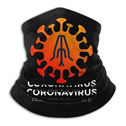 Alive Inc Pray For The World Coron-Avirus Scaldacollo in microfibra Sciarpa Ghette Copricapo Maschere per il viso Bandane
