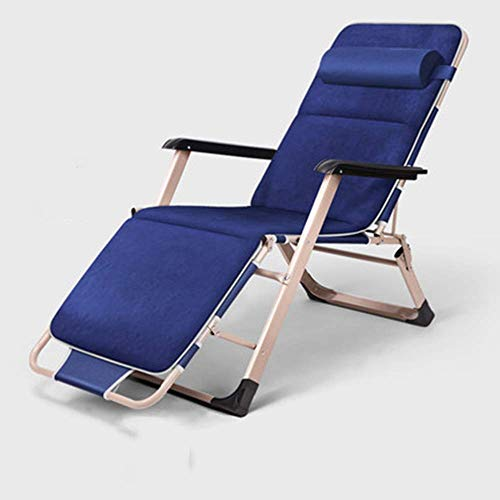 Fswallow Sun Lounger, Sunbed, Reclining Sun Chair, Textoline Zero Gravity Reclining Garden Chair Outdoor Sun Cushion Patio Furniture Thick Padded Bed Recliner Relaxer Chair