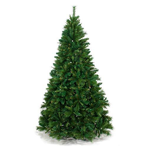 Albero di Natale Folto KENTUCKY 270 cm Abete Natalizio Artificiale 41031