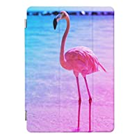 RECASOビーチ 水 美しいフラミンゴ iPad Mini/iPad Mini 2 /iPad Mini 3 ケース 高級品質 タブレット レザー PU 傷つけ防止 防衝撃 スマートカバーiPad mini1/2/3 カバー