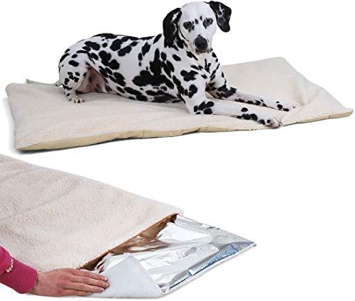 Knuffelwuff 13036 Kälteabweisende und wärmeisolierende Thermodecke Hund, XXL, 120 x 75 cm