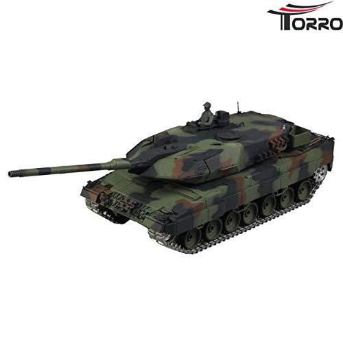 Heng Long 1:16 Leopard 2A6 Panzer Pro Version mit Metallketten etc.