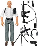 Click N' Play Secret Service Spy Agent 12' Action Figure Play Set with Accessories.