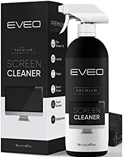 Screen Cleaner Spray (16oz) - Large Screen Cleaner Bottle - TV Screen Cleaner, Computer Screen Cleaner, for Laptop, Phone,...