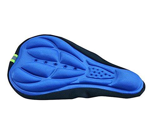 Badana Cubre Sillin Gel Culotte Antibacterial Antiparasitaria Ciclismo Color Azul 4102azul