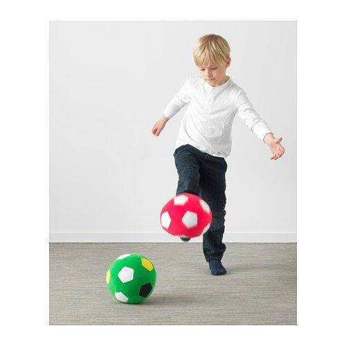 Sparka Ikea - Balón de fútbol de peluche, color verde: Amazon.es ...