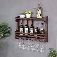 XIAOJIAN ワインラック金属製の鉄の瓶の壁に取り付けられた赤ワインラックフロートワインのキャビネットワインのガラス棚の下のワインのキャビネットのワイングラスの棚の装飾的な棚の花瓶棚(色:C、サイズ:80 * 11 * 43cm) (Color : C, Size : 60*11*43CM)