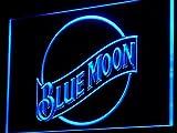 Blue Moon Beer Bar Pub Club LED Neon Light Sign Man Cave A136-B