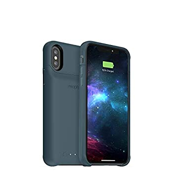 mophie 401002828 Juice Pack Access - Ultra-Slim Wireless Battery Case - Made For Apple iPhone Xs/iPhone X  2,000mAh  - Stone