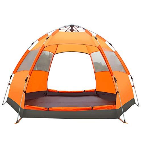 FABAX 3-4/4-6 Persoon Zeshoek Mongoolse Yurt Tent Regendicht Anti-UV Ademende Dubbele Laag Camping Tenten voor Outdoor Camping
