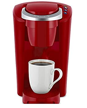 Keurig K-Compact Single-Serve K-Cup Pod Coffee Maker Imperial Red