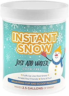 125g Instant Snow Powder - Magic Fake Snow Party Decoration by Playlearn
