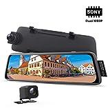 AUTO-VOX V5 Specchietto Retrovisore Dash cam Doppia Telecamera per Auto con 9,35 Pollci...