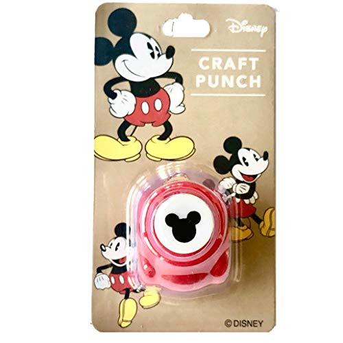Perforadora de papel de Disney con el logotipo de Mickey Mouse (importado de Japón)