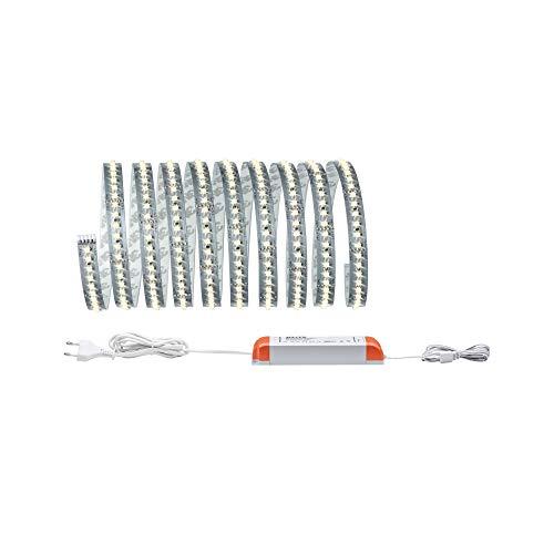 Paulmann 705.88 Function MaxLED 1000 Basisset 3m Warmweiß 40W 230/24V 75VA Silber 70588 LED Lichtband Lichtstreifen Lichtschlauch