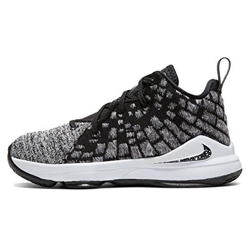 Price comparison product image Nike Lebron Xvii (ps) Little Kids Bq5595-002 Size 1 Black / Black-White