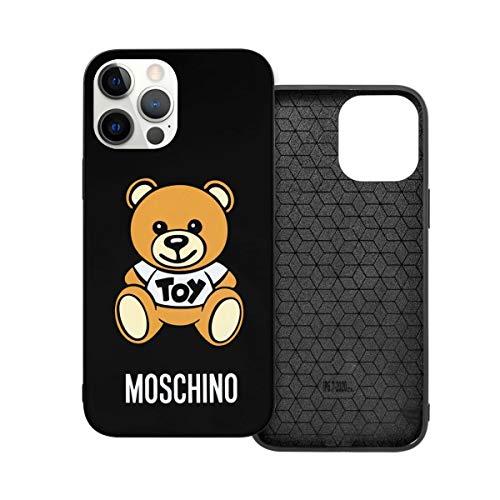 N / A Moschino Handyh¨¹lle iPhone 12 PC Material Unisex para proteger la pers?nlichkeit del teléfono a prueba de polvo iPhone 12mini-5.4