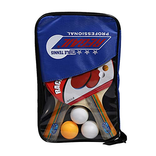 Why Should You Buy TiKingAn 2pcs Professional Table Tennis Ping-Pong Racket Paddle Bat+3pcs Ball Bag...