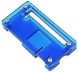 FORETTY DIANLU43 Caja de gabinete LDTR-PJ013 con Enfriador de diseños de Aluminio para la Frambuesa pi Cero w - Azul Rendimiento Estable