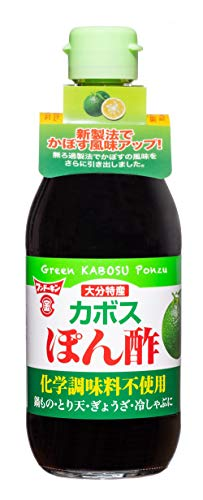 フンドーキン醤油 大分特産カボスぽん酢 360ml ×2本