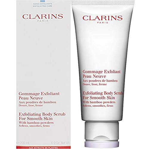 Clarins 200ml Exfoliating Body Scrub for Smooth Skin (with bamboo powders, softens, smoothes and firms)