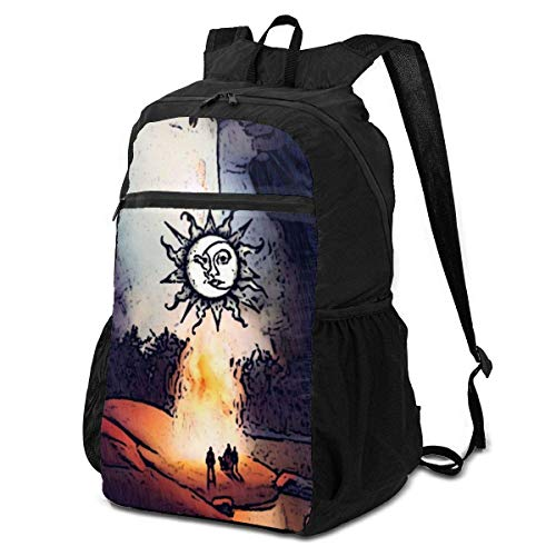 Stone Sour Through Glass Ultra Lightweight Folding Camping Hiking Portable Travel Backpacks