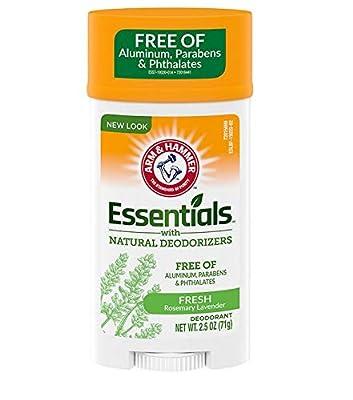 Arm & Hammer Essentials Deodorant, Fres