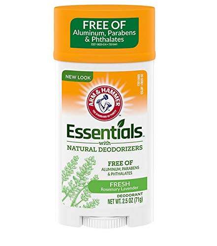 Arm & Hammer Essentials Deodorant, Fresh, 2.5 Oz/pack, 4 pack by Arm & Hammer