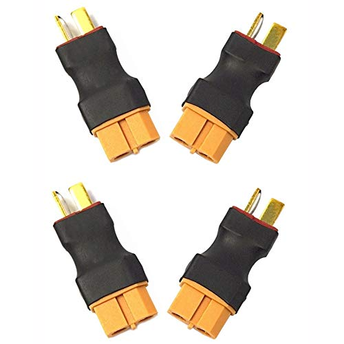 Facibom XT to Deans T-Type Plug Threaded Pipe Fittings for RC Type Lithium Polymer Batteries