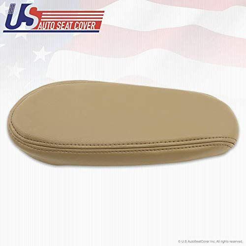 US Auto Seat Cover 1999 2000 2001 2002 2003 2004 2005 2006 07 Compatible with Ford F250 Lariat Armrest Leather Tan -  mx1_332487191151_B82C9AE870134BD2985F107
