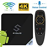 Android 8.1 TV Box, VIDEN S95 Smart TV Box Amlogic S905X2 Quad Core...