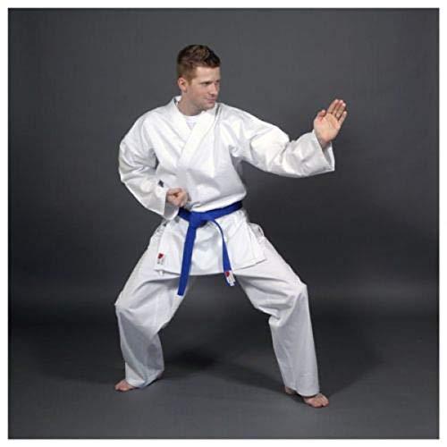 Asia Sports Karate Anzug Master, 16oz Drill, Hose mit Gummizug, Gr. 180