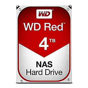 Western Digital WD40EFRX WD Red NAS Hard Drive - Hard drive - 4 TB - internal - 3.5 inch - SATA 6Gb/s - buffer  64 MB - for WD My Cloud EX2 EX4