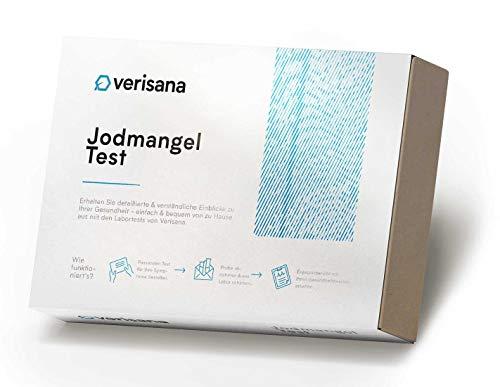 Jodmangel Test Kit – Jod und Kreatinin einfach & bequem zu Hause bestimmen – Jodmangel und Schilddrüse – Verisana Labor