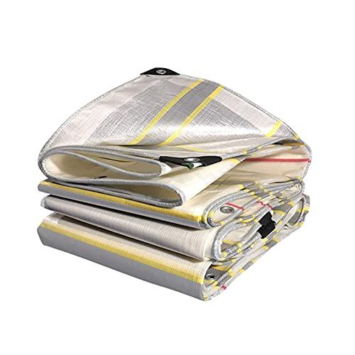 LXX wasserdichte Hochleistungsplane, Mehrzweckplane mit Metallösen, reißfest und UV-beständiger Schutzschutz für Autos Boote Wohnmobile-Plane 2x2m