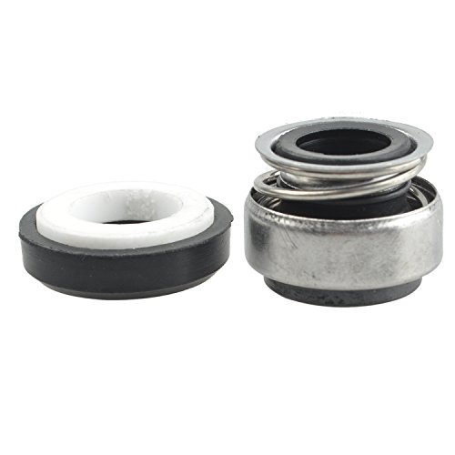RETYLY RETYLY (R) 14mm Spiralfeder Gummibalg Pump Gleitringdichtung 301-12
