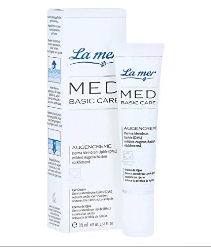 La mer: MED Basic Care Augencreme ohne Parfum (15 ml)