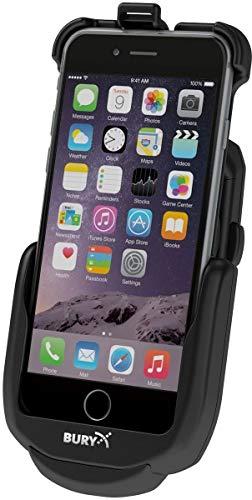 Bury S9 Base, schwarz - Halterungen für (Mobiltelefon/Smartphone, Auto, Apple iPhone 6/6S Plus, Zigarrenanzünder)