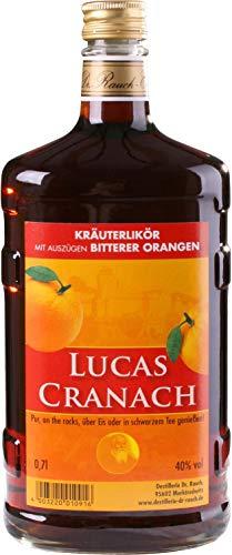 Lucas Cranach 0,7 l | Likör aus Bitterorganen und milden Kräutern | Spirituosen-Spezialität der Destillerie Dr. Rauch | Schnaps mit herb-fruchtiger Note